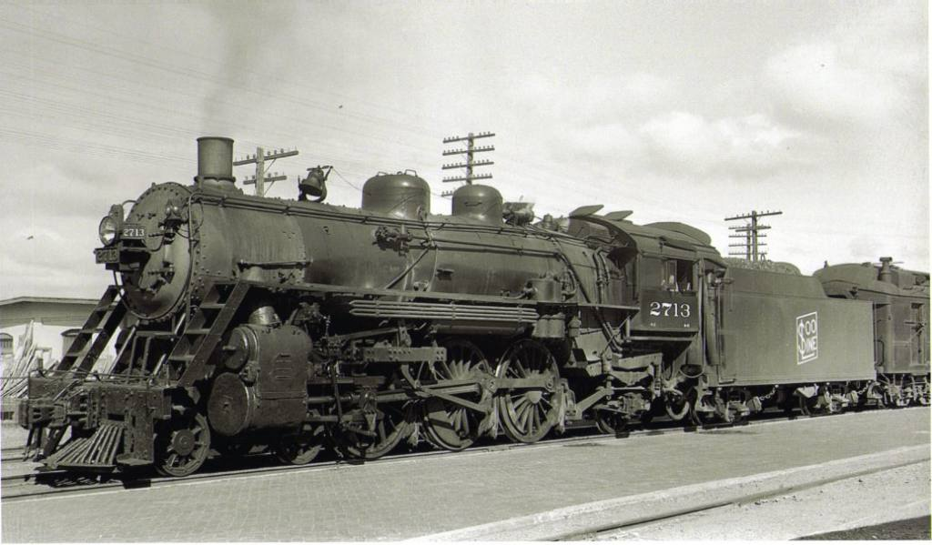last steam locomotive used